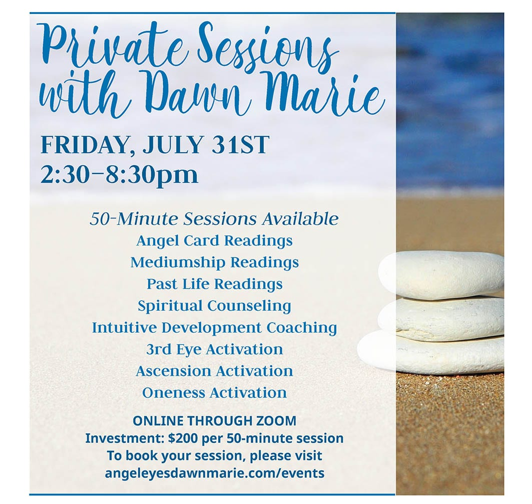 private readings with Dawn Marie