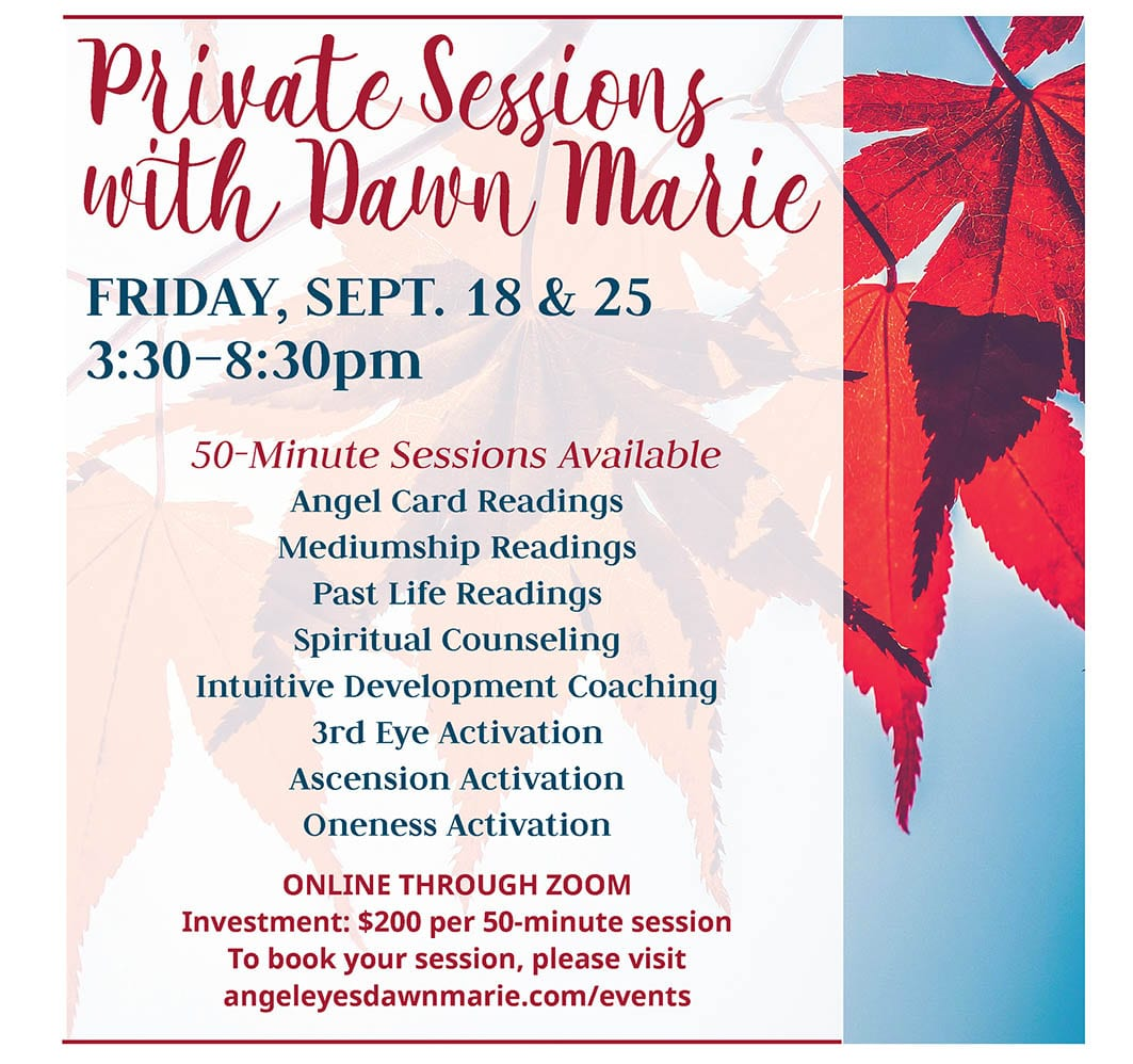 Private Sessionwith Dawn Marie Sept 2020