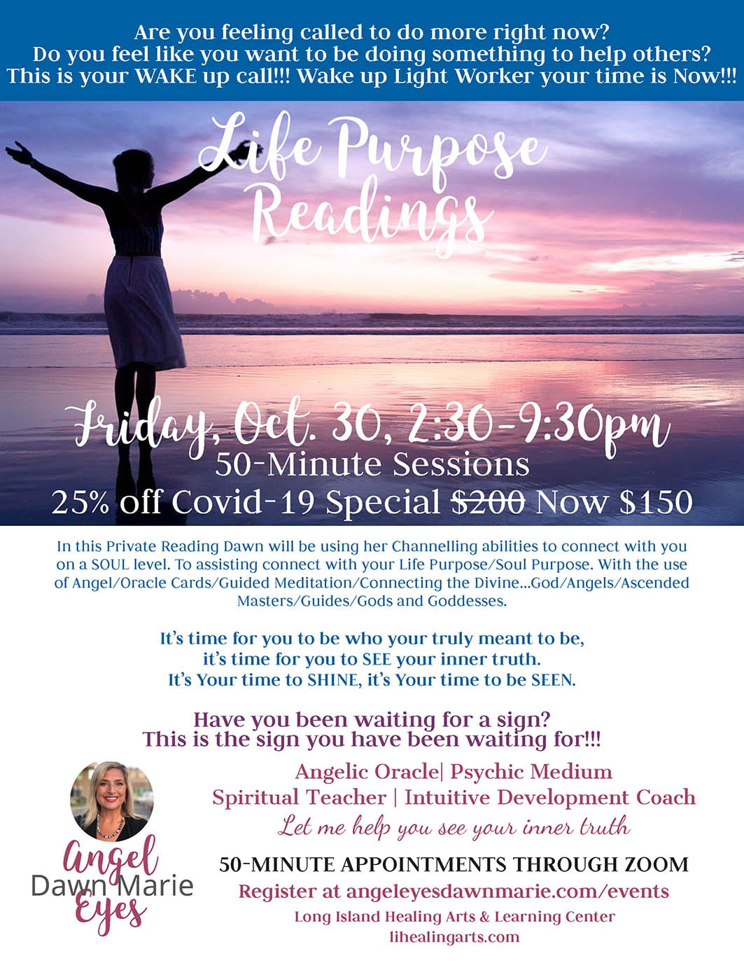 Life Purpose readings with Dawn Marie
