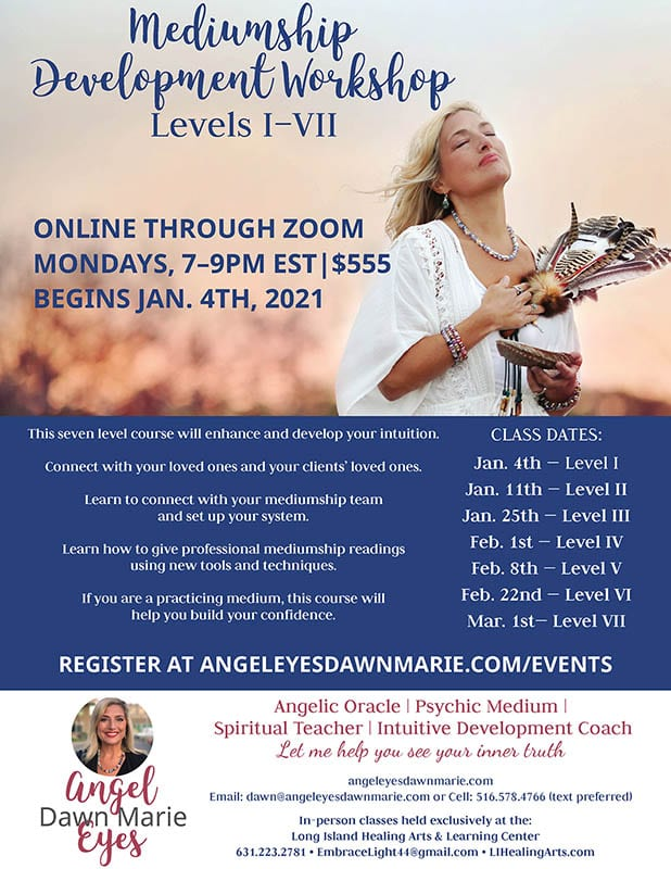 Mediumship Development Course with Dawn Marie